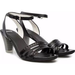 Camper Diana black heeled strappy sandal sz 39
